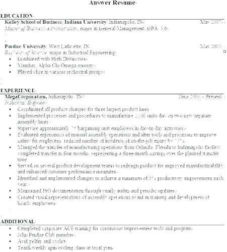 Resume Examples For Business Resume Language Skills