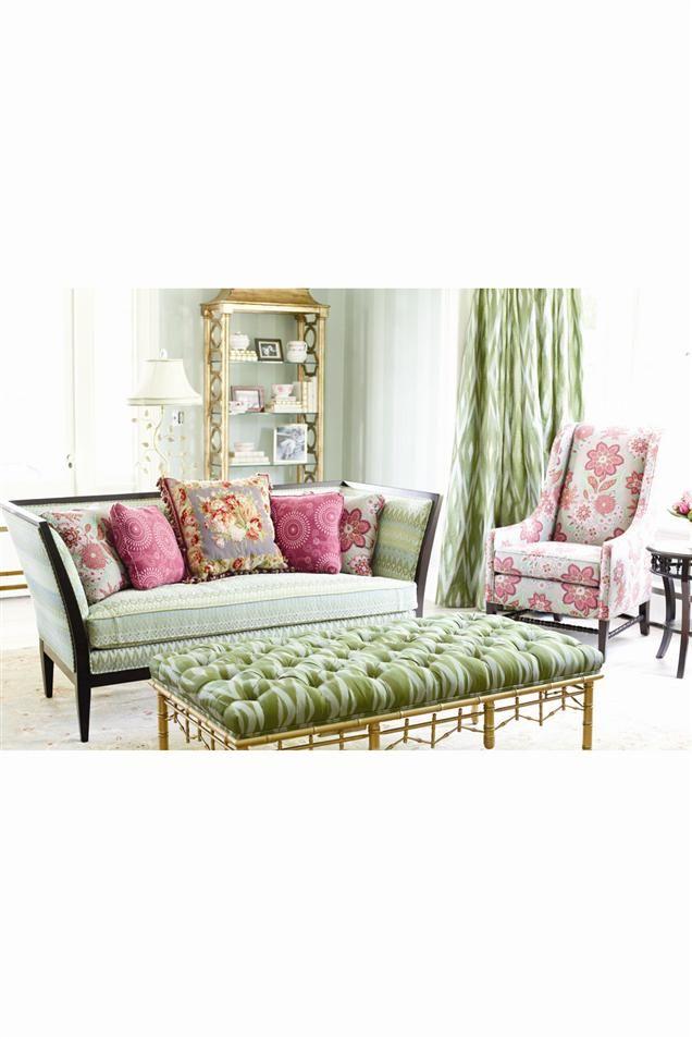 Vanguard Living Room Furniture: Annie Selke By Vanguard