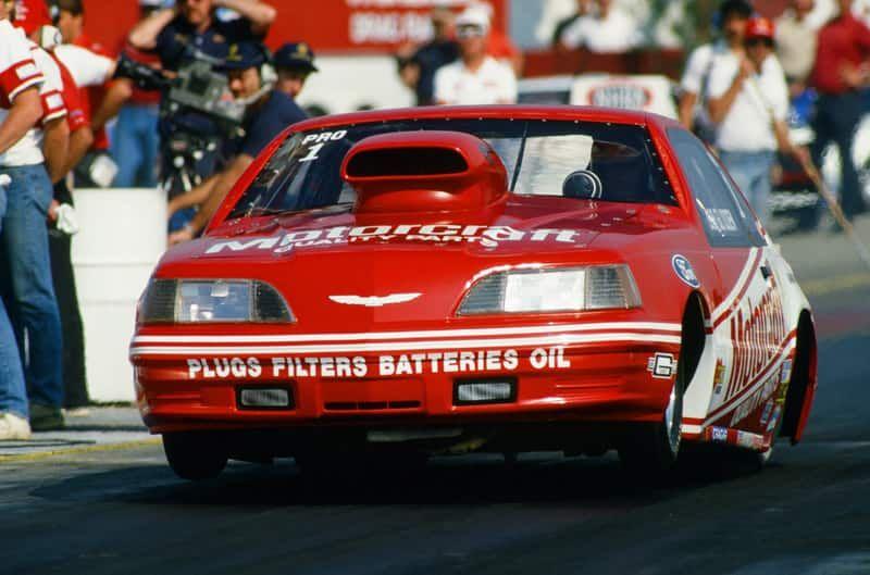 Motorcraft Quick Lane Racing Honors Ford Nhra Legend Bob Glidden