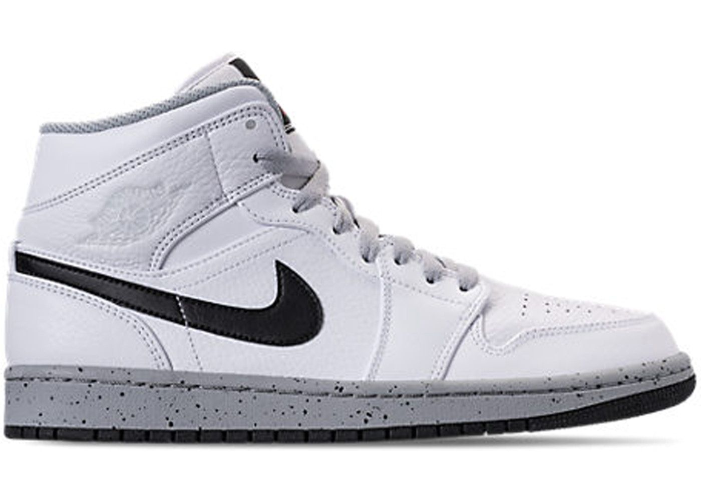 Check out the Jordan 1 Mid White Cement available on StockX 4a51e7f6a8