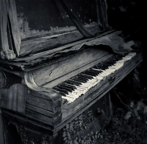 Once Made Beautiful Music ♥ Often Abandoned In Homes