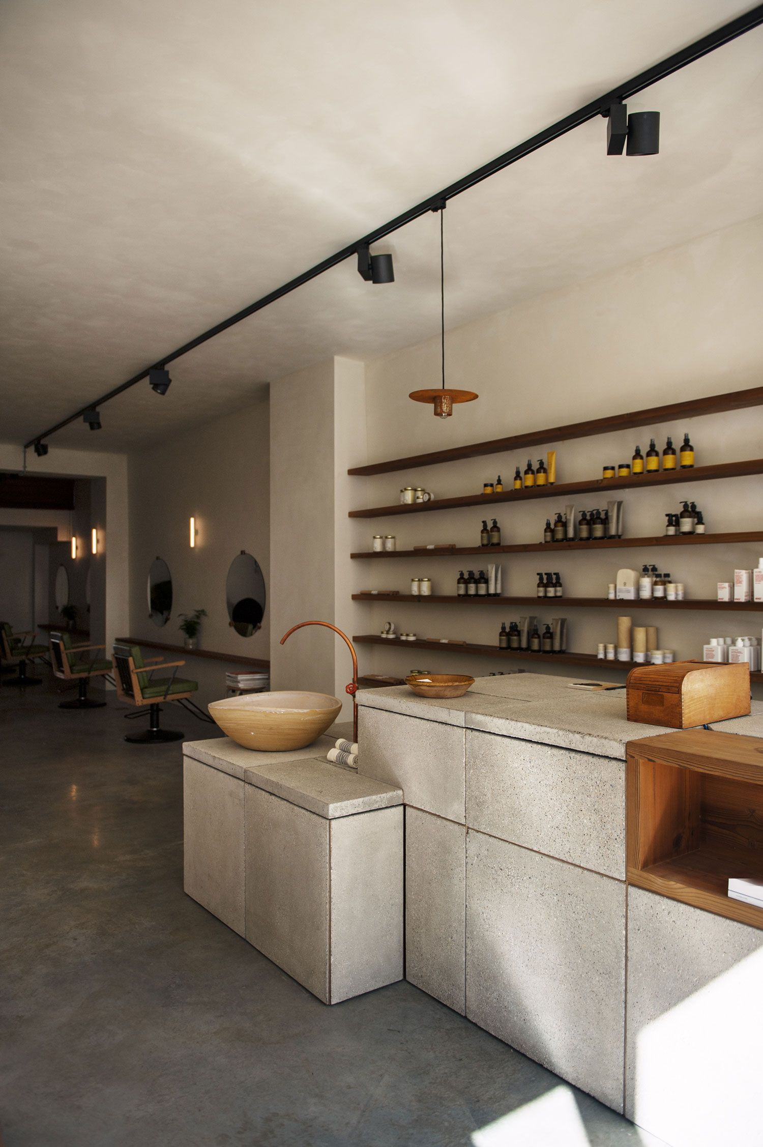 ISU Hair Salon in Antwerp, Belgium by Going East | Yellowtrace