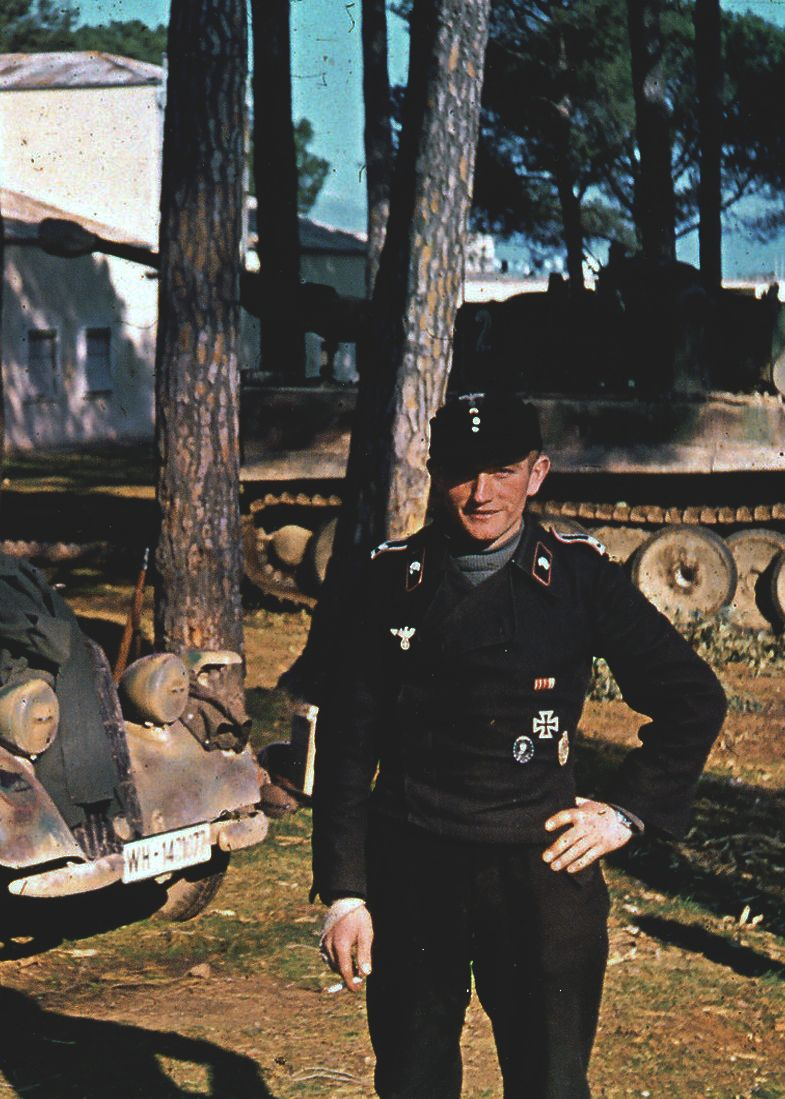 Panzertrupe Waffen SS