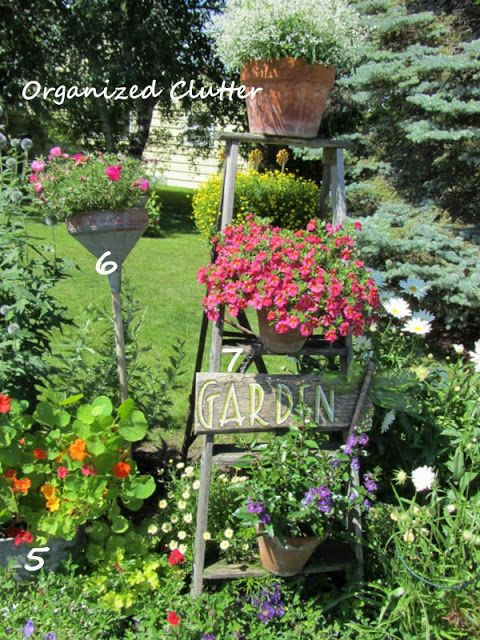 Anatomy of a Cottage Garden Gardens Garden junk and Perennials