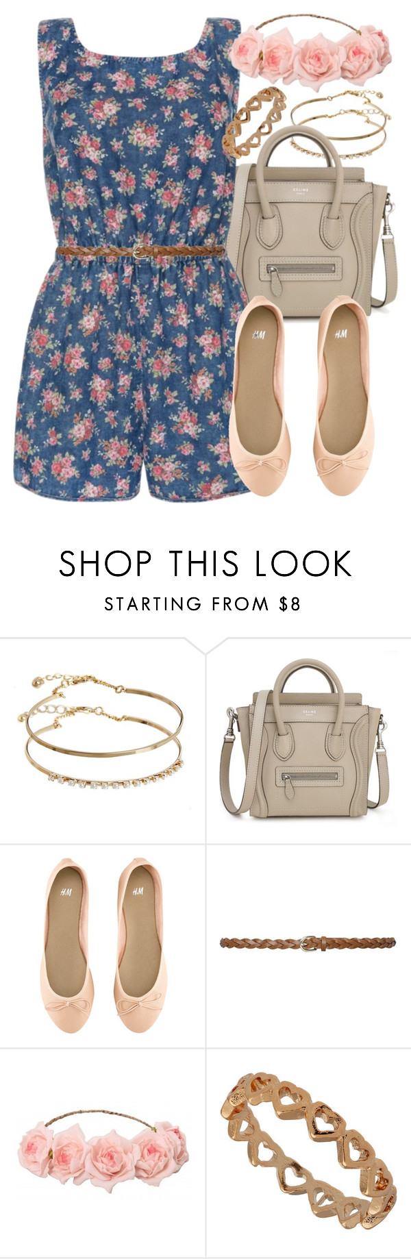 """""""Look #560"""" by foreverdreamt ❤ liked on Polyvore featuring moda, ASOS, H&M e M&Co"""