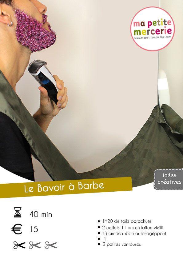 Tuto Bavoir a Barbe