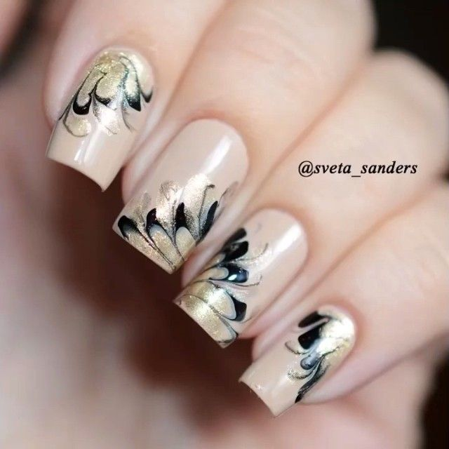 20 Marble Nail Art Tutorials That Are Truly Mesmerizing | Marble ...