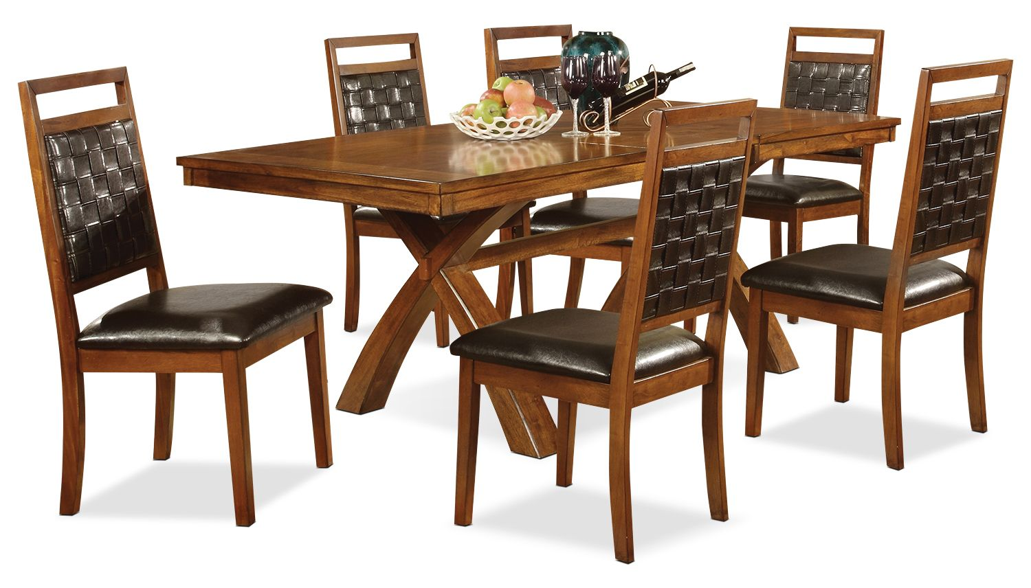 Mindy piece dining package the brick furniture ideas