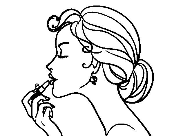 fashion coloring pages for adults - Google Search | Color: People ...