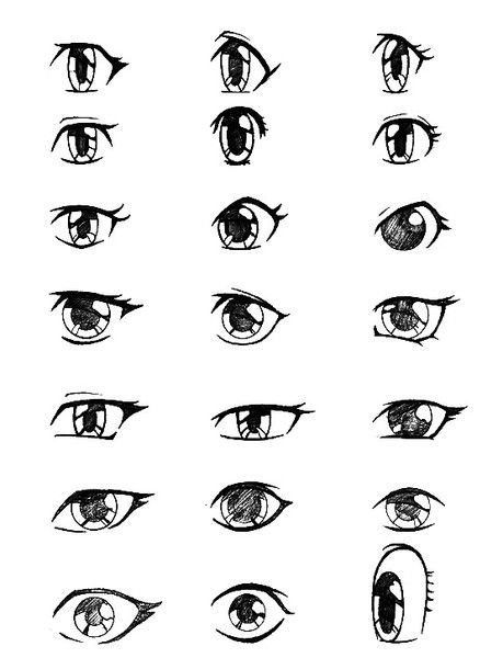 I love these i can never do good cartoon eyes and these are amazing to work off of