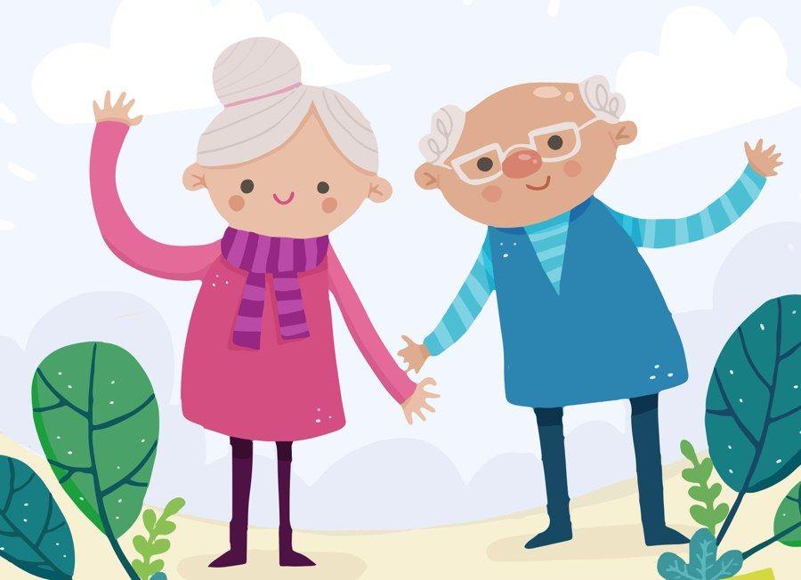 Wierszyk: Odlotowa babcia i najsłodszy dziadek dla dzieci do ...