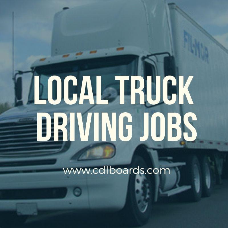 Local truck driving jobs truck driving jobs driving