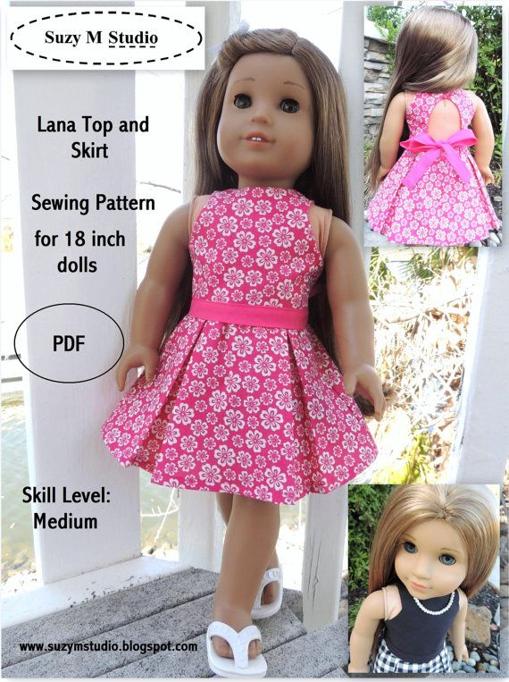Fine American Girl Patterns Sewing Free Composition - Easy Scarf ...