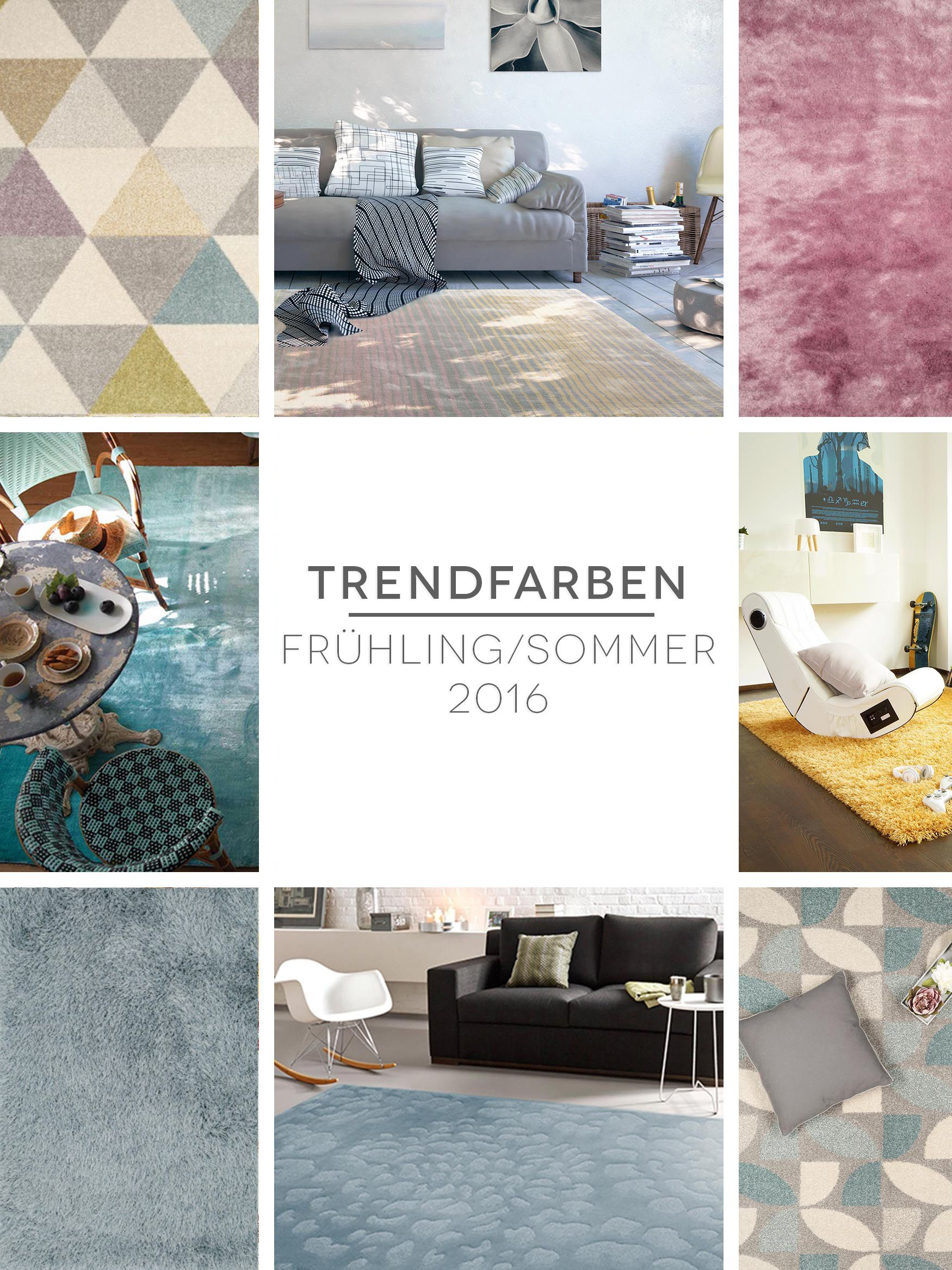 Trendfarben Frühling Sommer 2016: Mode & Einrichtung
