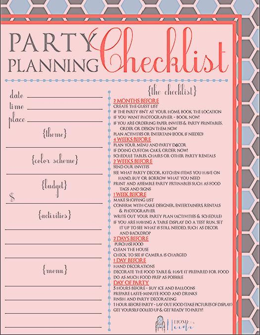 Photo of Partying on a Budget & a Party Planning Checklist