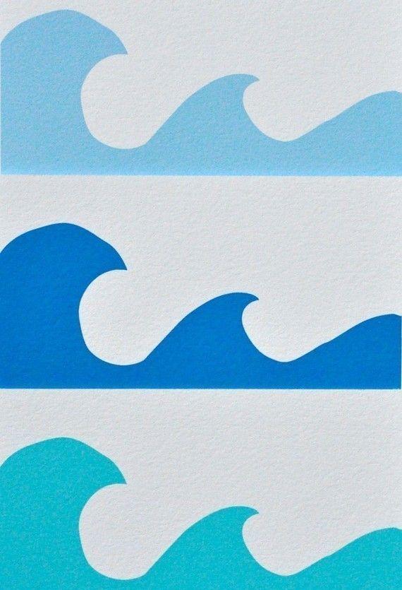 Items Similar To 8x10 Peace Be Still Deep Blue On Etsy Animais Da Arca De Noe Arte Sobre Surfe Trabalhos Manuais