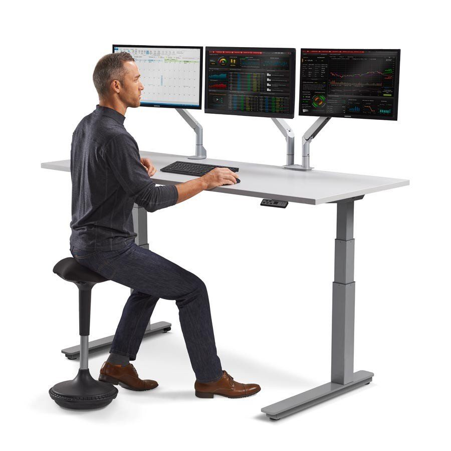 sit and stand computer desk best desk chair for back pain check