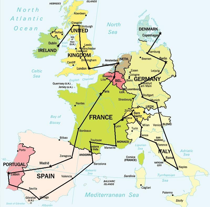 Europe Train Map | things to do | Pinterest | Travel, Europe and