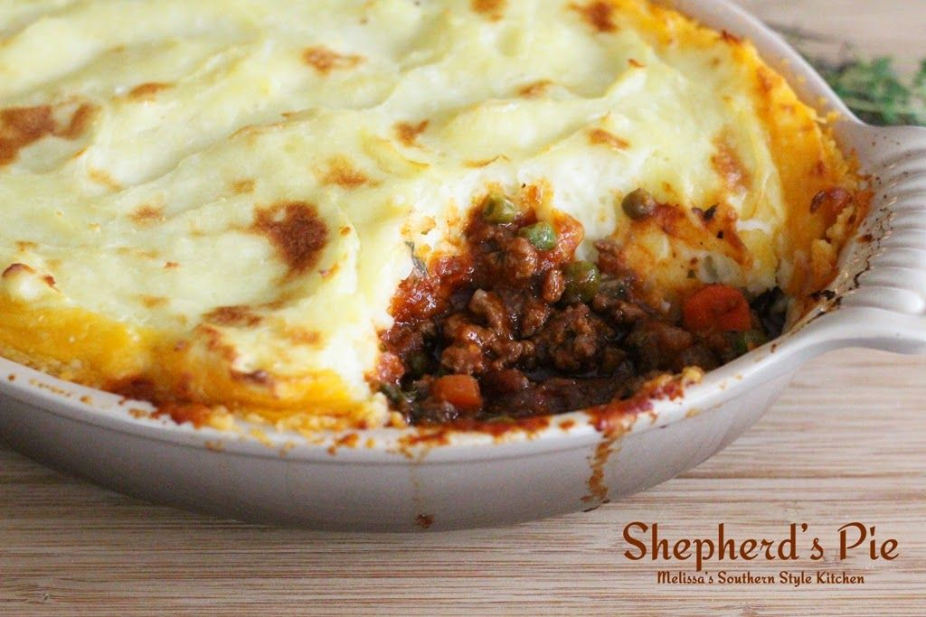 Melissa S Southern Style Kitchen Shepherd S Pie Shepherds Pie Recipes Beef Recipes