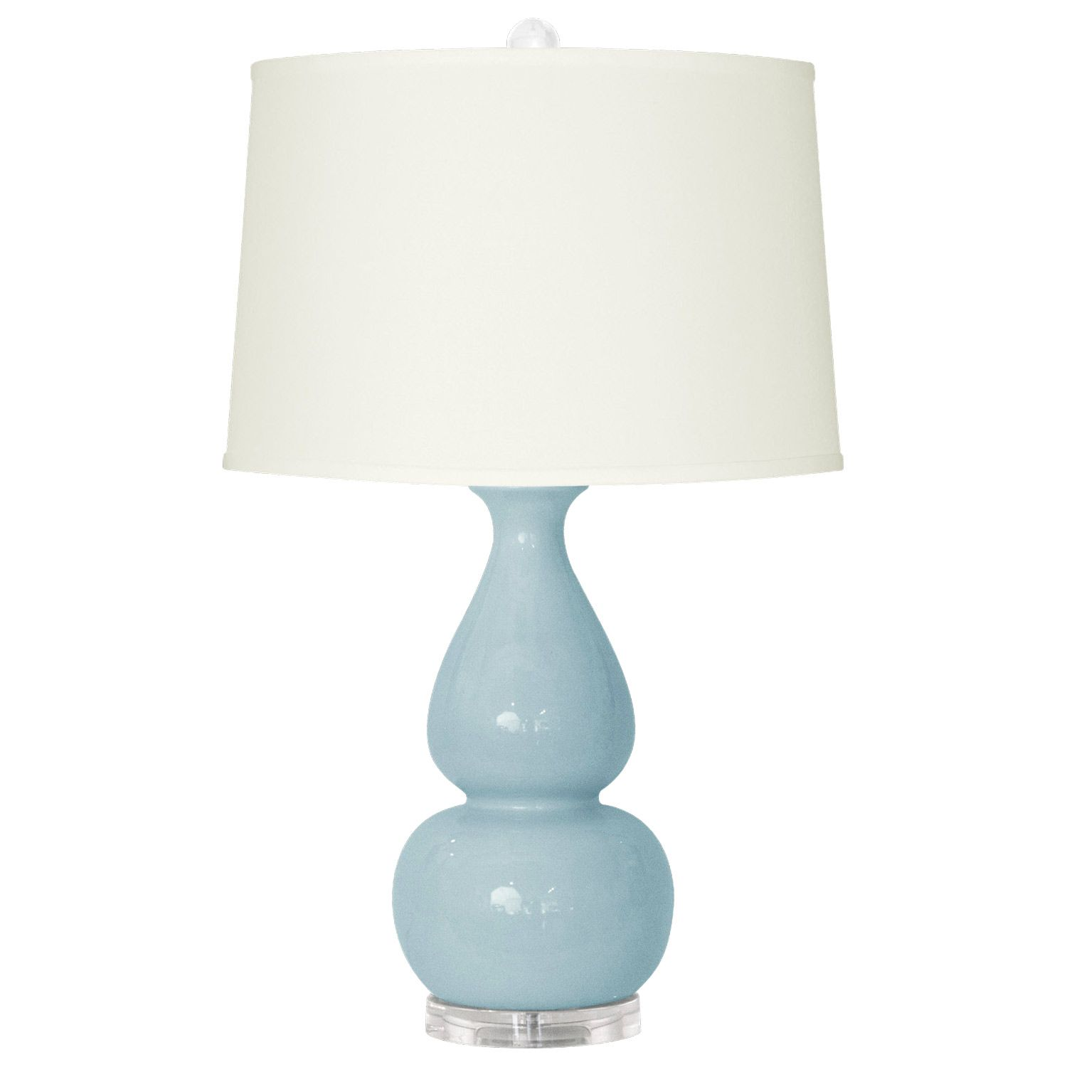 Bungalow 5 Emilia Light Blue Table Lamp Base From Layla Grayce