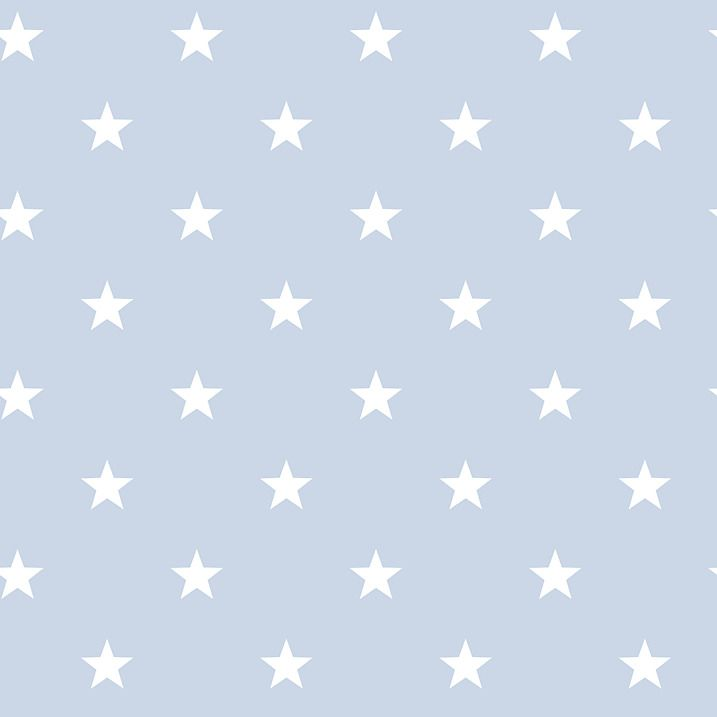 pinterest//catherinepearson_ Star wallpaper, Baby blue