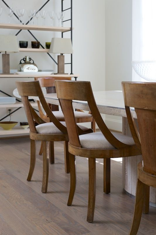 The Upside of Downsizing   decor   Pinterest   Dining  Room and     These upscale chairs featured here are the same ones I am refurbishing  I  am going to burst with joy  Thanks Denise for this incredible find