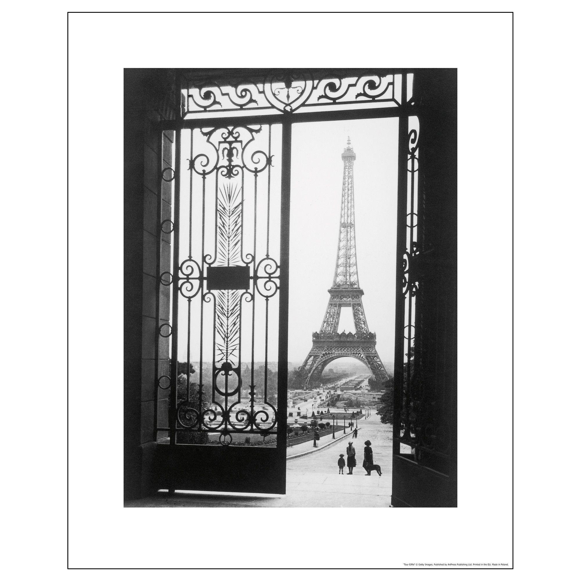 bild poster ikea paris scene pinterest spaces and tower. Black Bedroom Furniture Sets. Home Design Ideas
