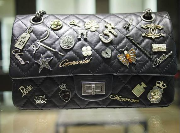 Chanel Black Lucky Charms 2 55 Flap Bag