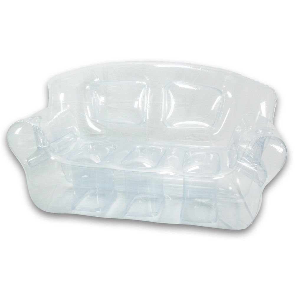 Inflatable bed clear - Crystal Clear Inflatable Bubble Couch
