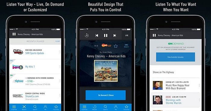 Download Sirius XM Radio App and Watch Live Football