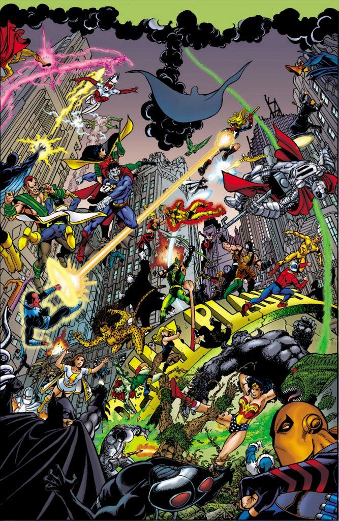 DC Universe - Infinite Crisis by George Perez