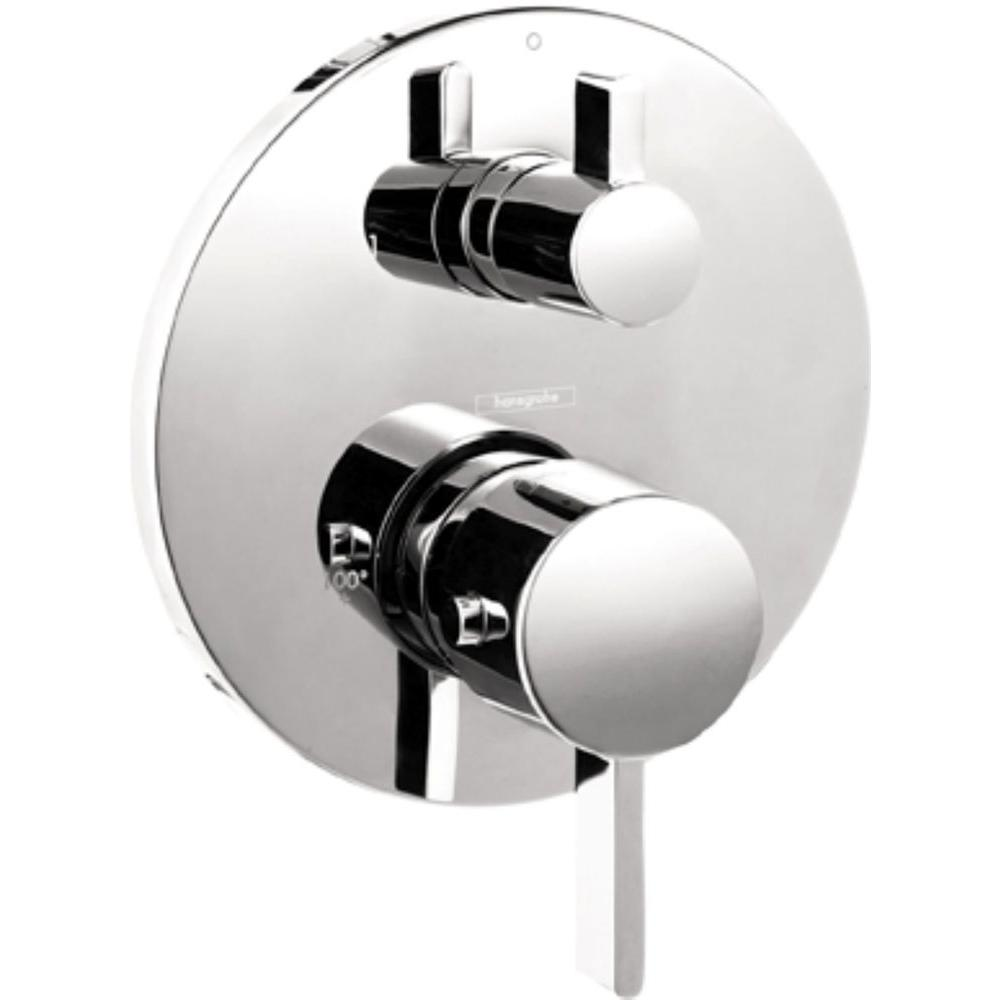 Hansgrohe S Thermostatic 2 Handle Valve Trim Kit In Chrome Grey