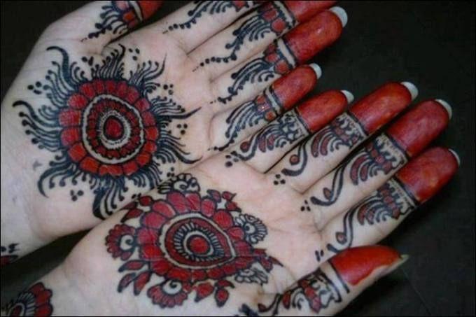 Tattoo Mehndi Tangan : Gambar hena di tangan henna art