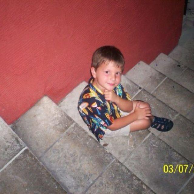 My reason for living; my handsome, hilarious, brilliant son. circa 2007 Perdido Key, FL