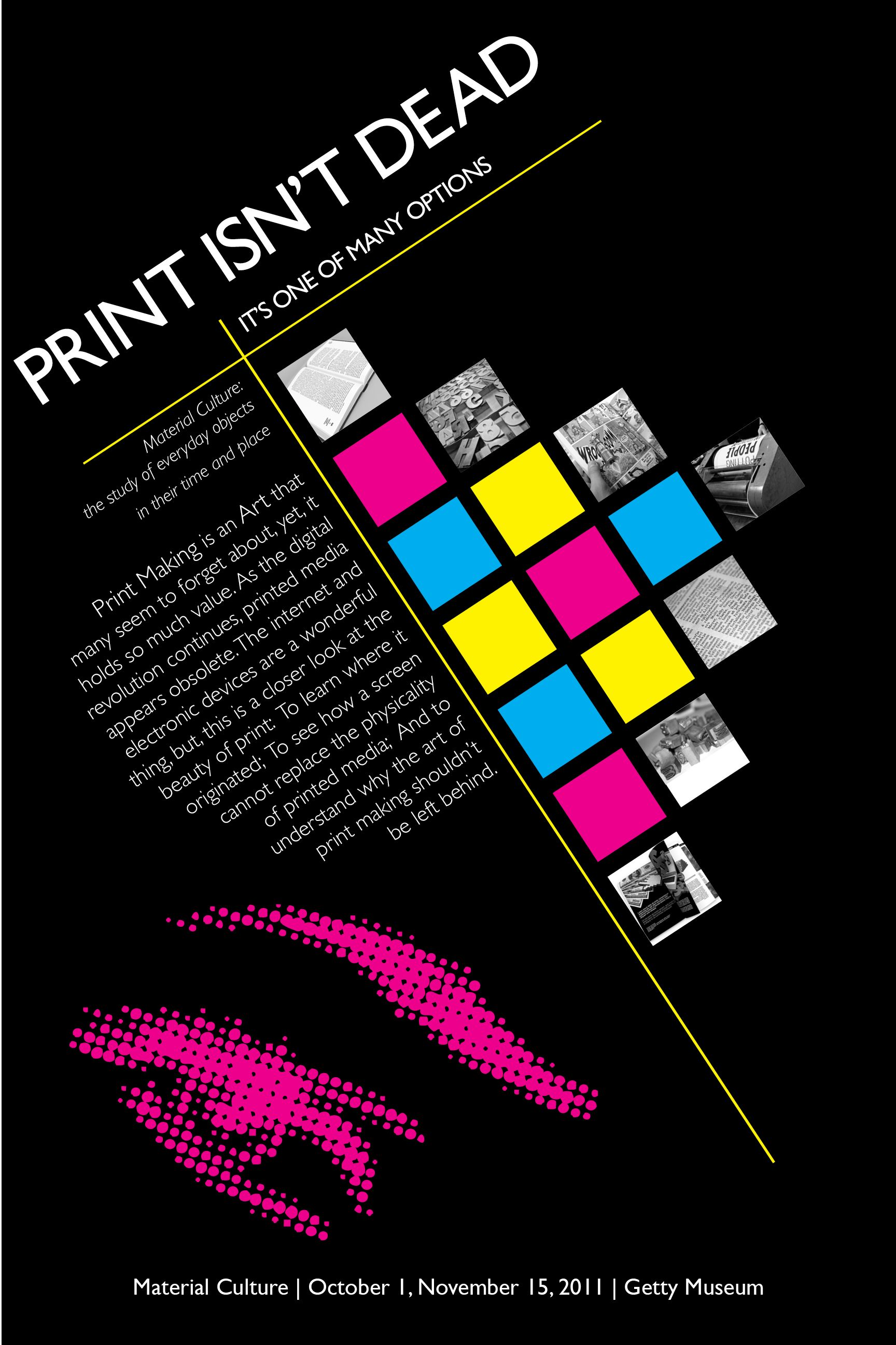 Poster design creator - Blog9 This Is A Grew Exhibition Poster The Squares Represent Repetition Of Form The