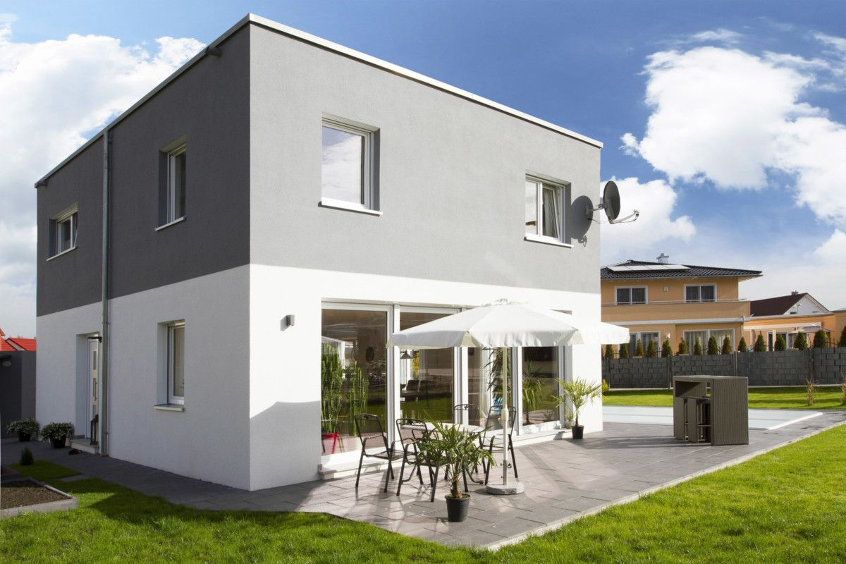 Verschiedene Fertighaus Cube Dekoration Von Modern Im Til - Massiv Bauen Mit