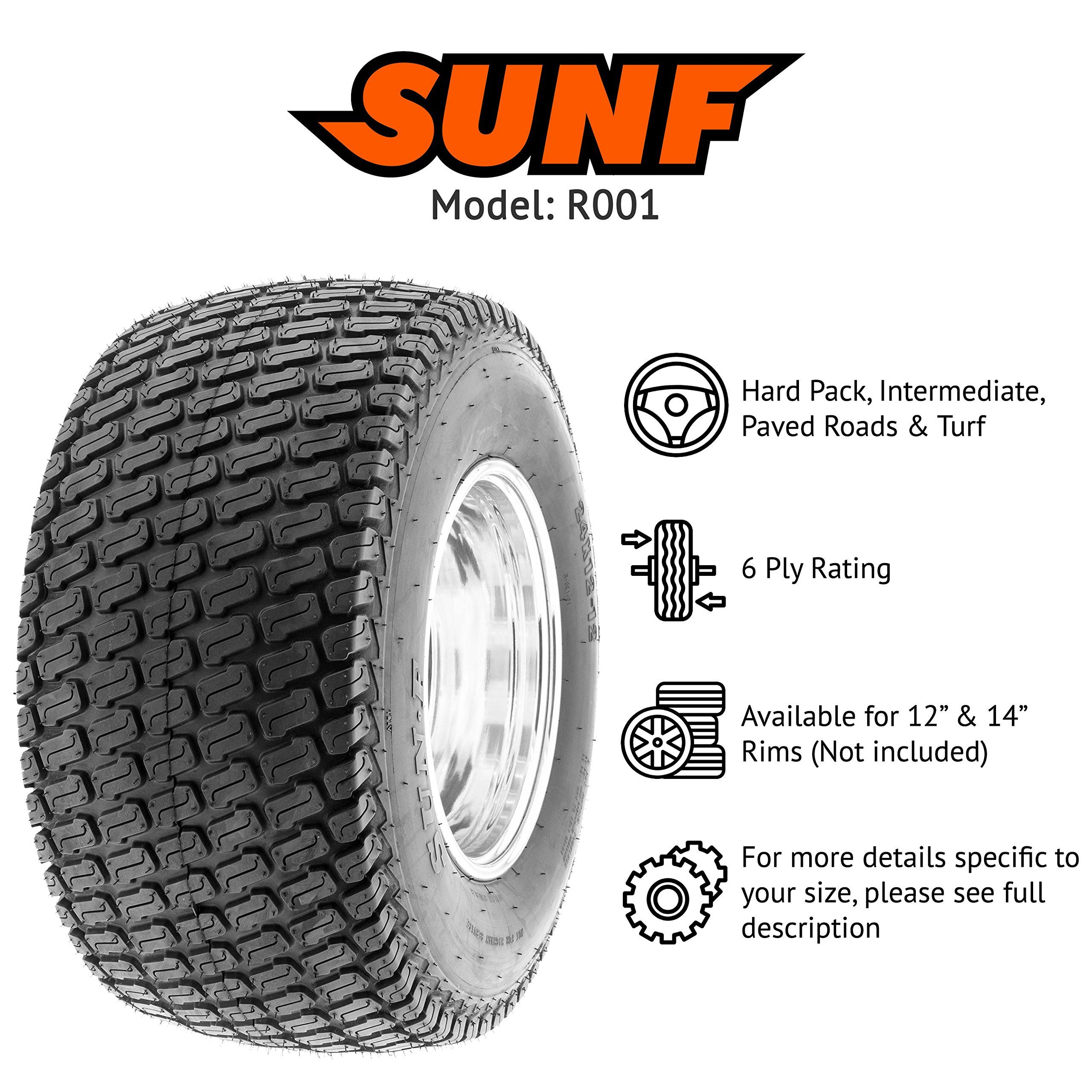 Sunf R001 Golf Cart Lawn Mower Garden Tractor Utv Turf Tire 24x1212 6 Pr Tubeless Details Can Be Found By Clickin Automotive Tires Garden Tractor Golf Carts