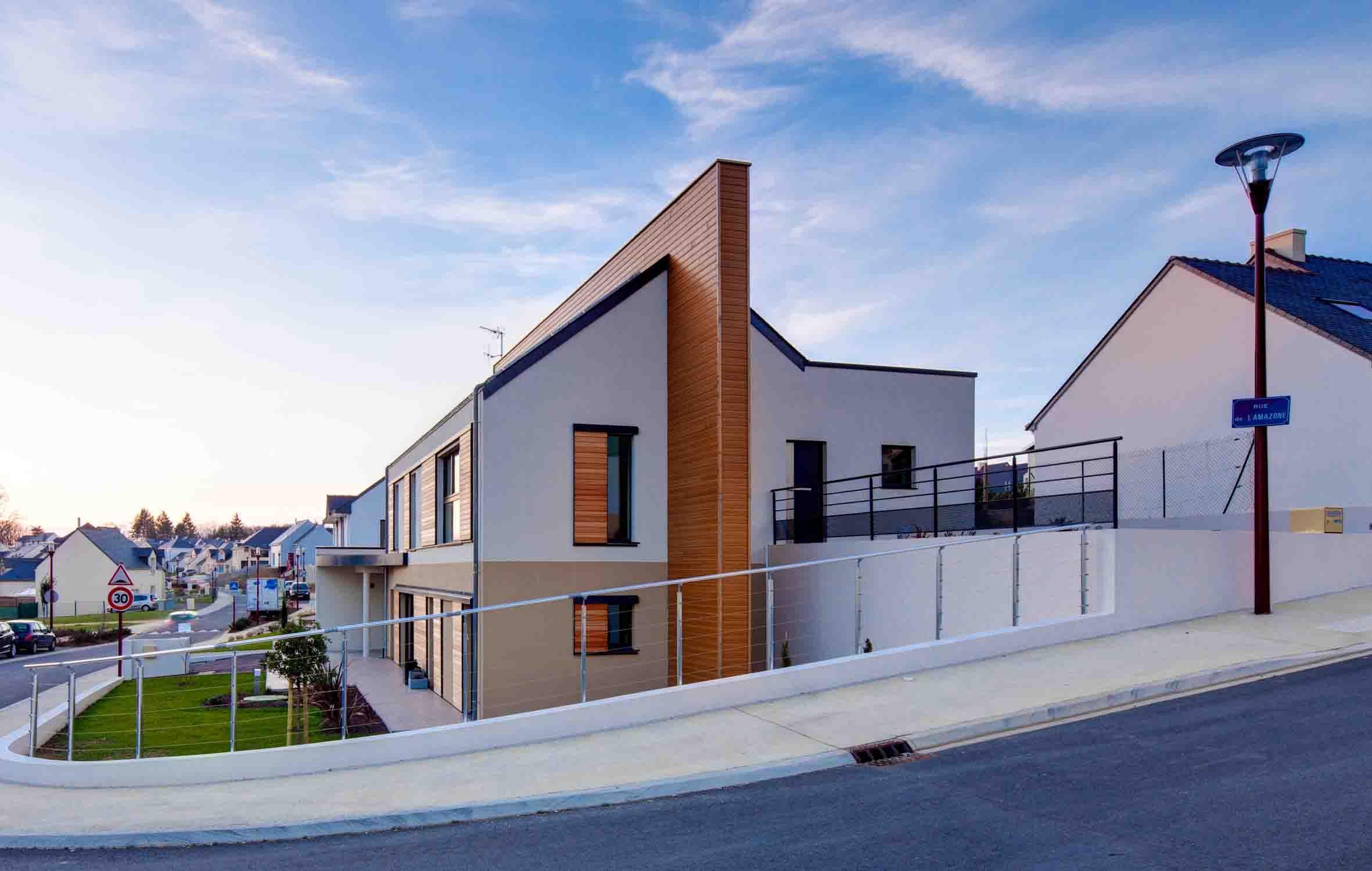 Maison passive à carquefou en loire atlantique par alliance construction