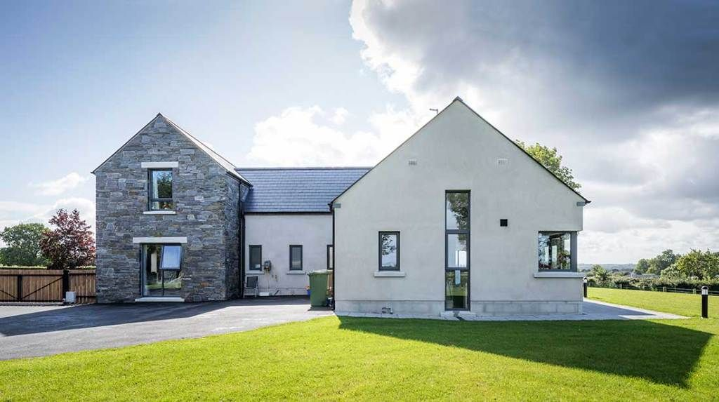 New Build In County Armagh In 2020 House Designs Ireland Irish House Plans House Outside Design