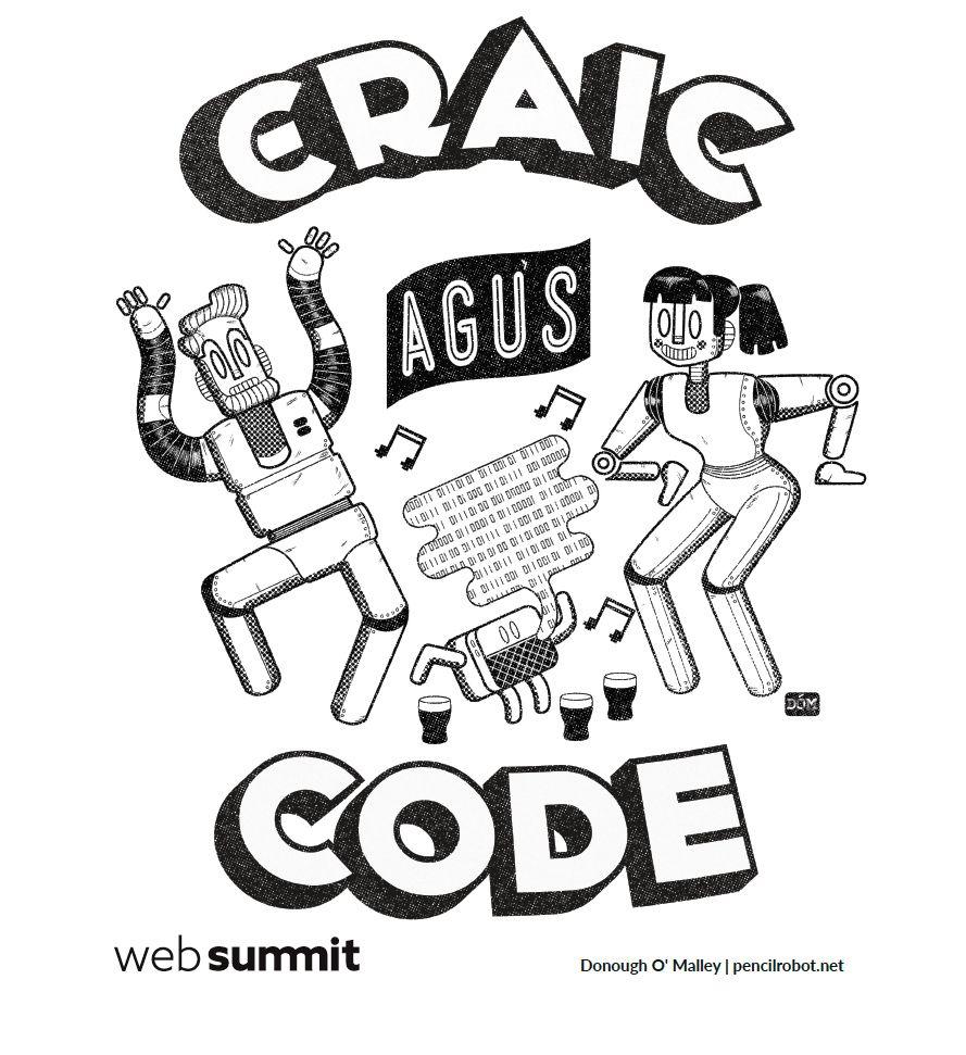 Web Summit 2015 'Craic agus Code' on The Dots