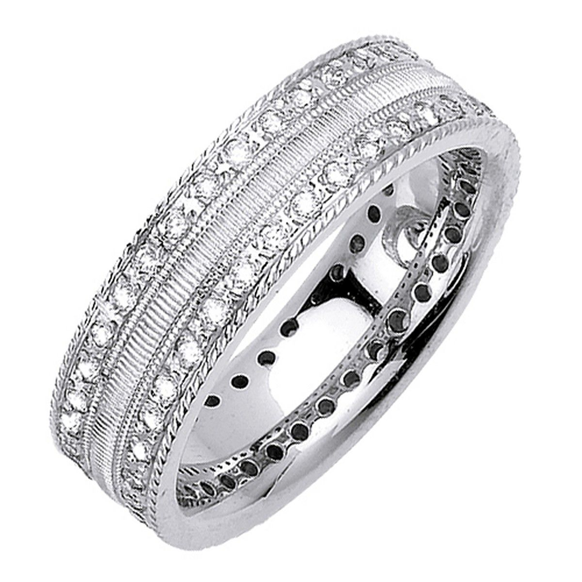 Manufacturing The Finest In Quality Wholesale Diamond Anniversary Bands, Diamond  Wedding Rings, Mens Diamond Rings And Womens Anniversary Rings