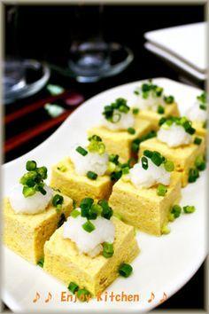 レンジで簡単!豆腐入りふんわりだし卵
