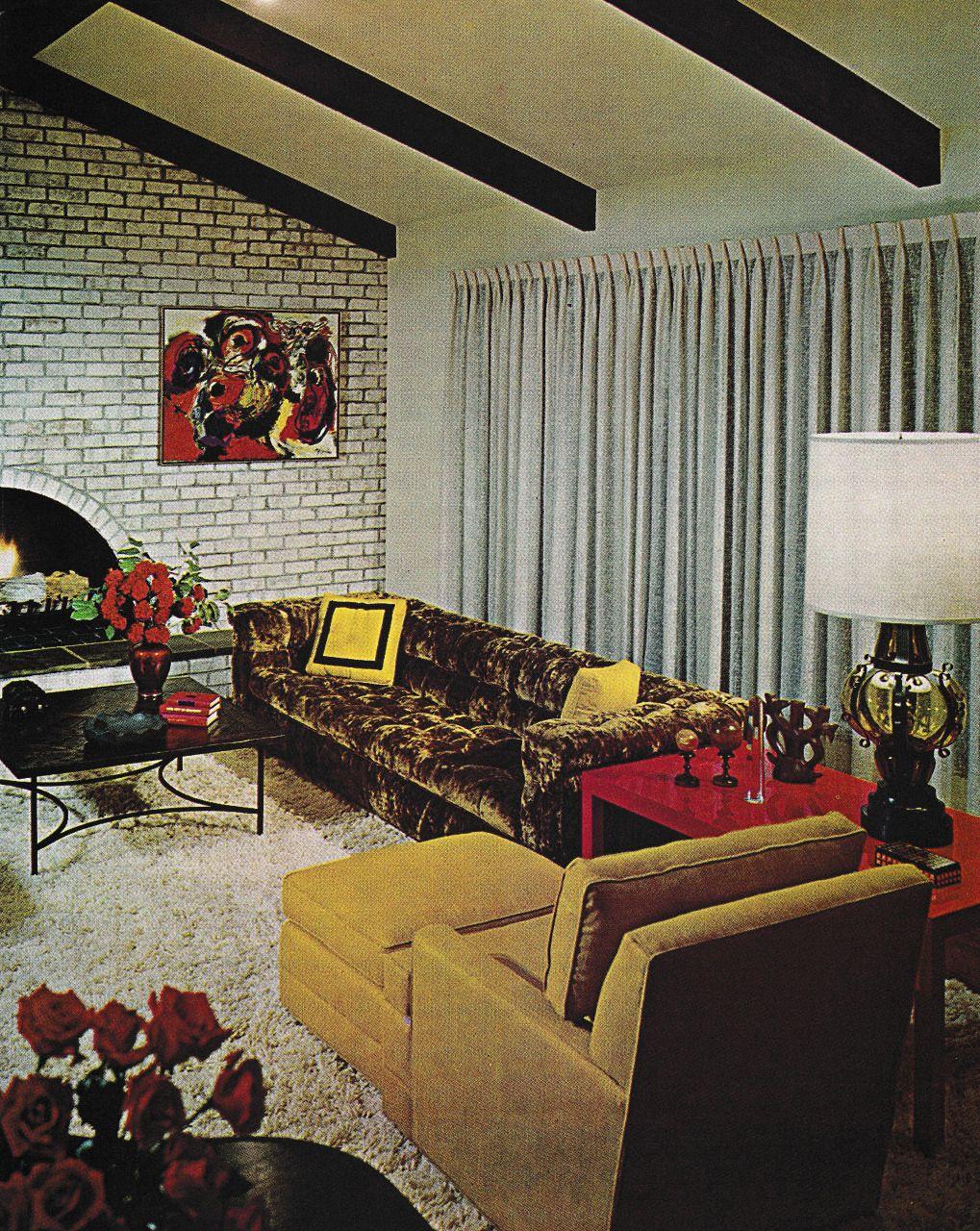 Thegikitiki 1970s Living Room The