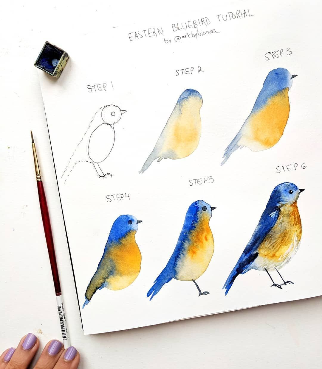 Bird Tutorial Hope You Like It Don T Miss Out On The Free Art