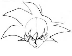 Kanji De Manga Vol 3 Cover Image Goku Drawing Drawings Dbz Drawings
