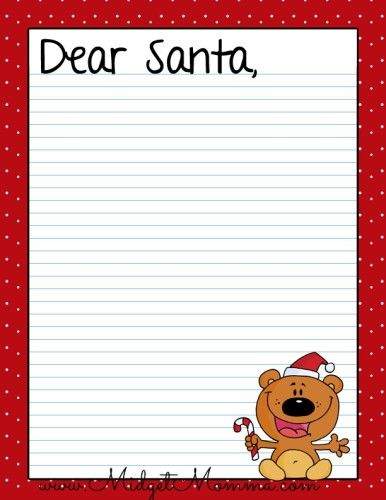 Free Santa Letter Printables  Free Santa Letters Holidays And