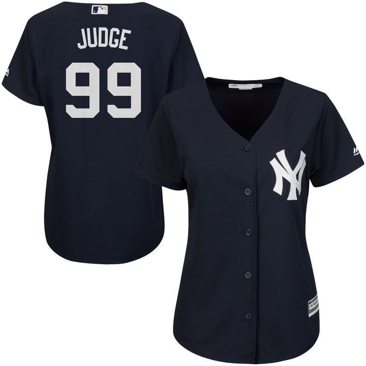 0d103d75d Aaron Judge New York Yankees Majestic Women s Fashion Cool Base Player  Jersey - Navy -  99.99