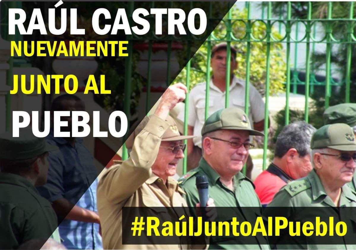 Raúl es un hombre de acción, los guerrilleros nunca dejan de serlo