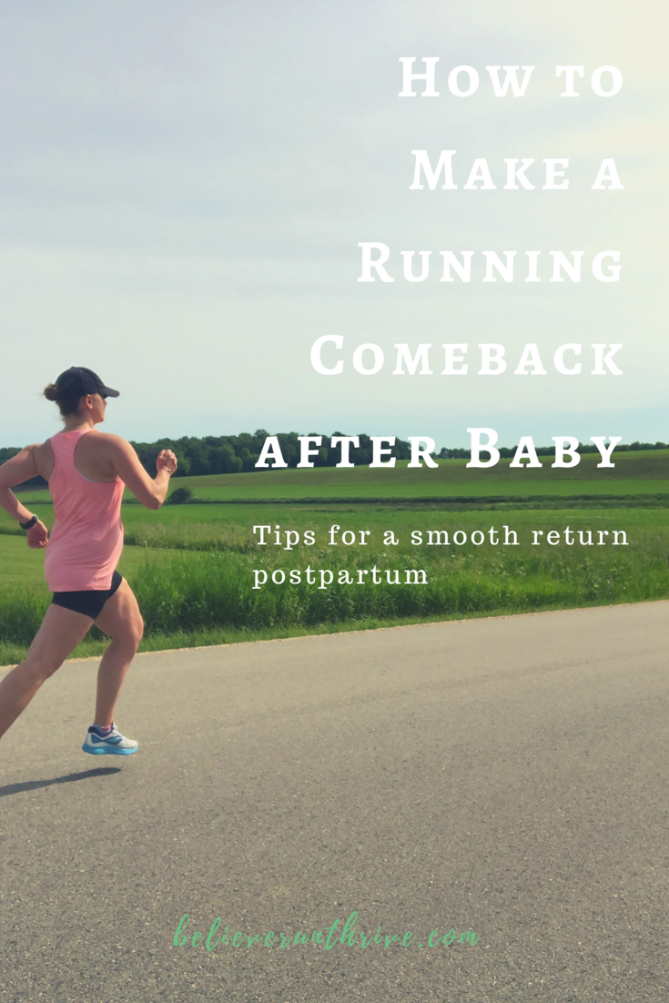 How To Return To Running After Baby Running After Baby Beginning Running