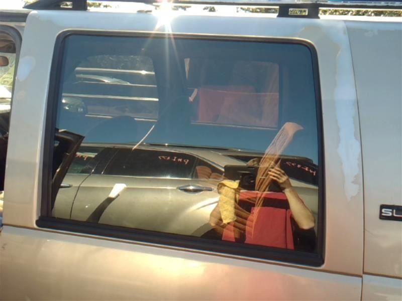 Driver Rear Door Glass Crew Cab Fits 92 00 Chevrolet 3500 Pickup